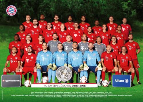 Ravensburger 131846  Puzzle FC Bayern München Saison 2015/2016 300 Teile