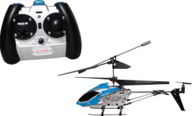 Racer R/C Polizei Helikopter 2.4GHz, mit Gyro