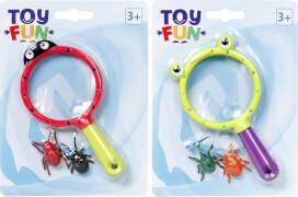 Toy Fun Lupe mit Käfer