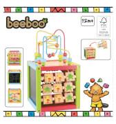 Beeboo Holz-Lernwürfel inklusive Motorikspiel