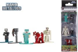 Jada Minecraft Nanofigs 1.65 5-Pack