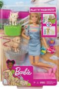 Mattel FXH11 Barbie Play 'N' Wash Puppe (blond)
