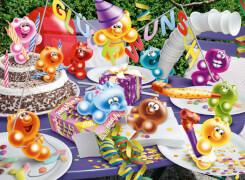Ravensburger 130962  Puzzle Gelini Geburtstagsparty 300 Teile