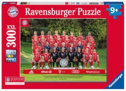 Ravensburger 132508 Puzzle: FC Bayern Saison 17/18 300 Teile