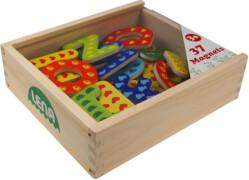 LENA magnetischen Holz-Buchstaben