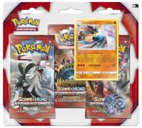 Pokémon Sonne & Mond 04 Aufziehen der Sturmröte 3-Pack Blister