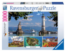 Ravensburger 194605  Puzzle Bodensee 1000 Teile