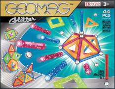 Geomag Glitter 44 - Magnet-Konstruktions-Set, 44-teilig, Kunststoff/Metall