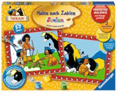 Ravensburger 277605  Malen nach Zahlen - Yakari und seine Freunde