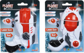 Planet Fighter Laserpistole, 2-sortiert