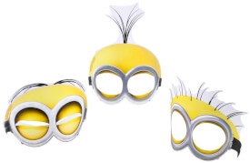 6 Masken Minions